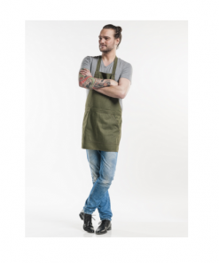 Chaud Devant, Bib Apron, Salopet Denim, 510
