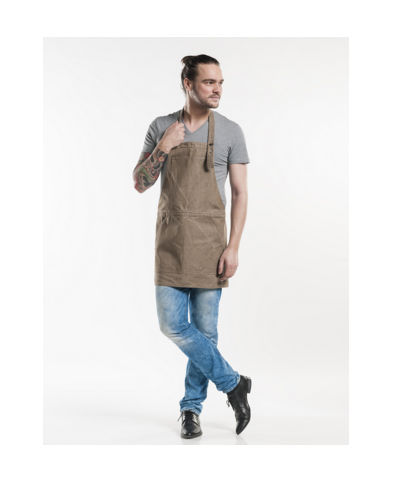 Chaud Devant, Bib Apron, Salopet Denim